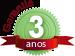 Garantia do produto Lavadora de Alta Press�o El�trica Monof�sica, 1,6 cv, 1900 Watts, 1,9kw, 1600 libras-Jactoclean