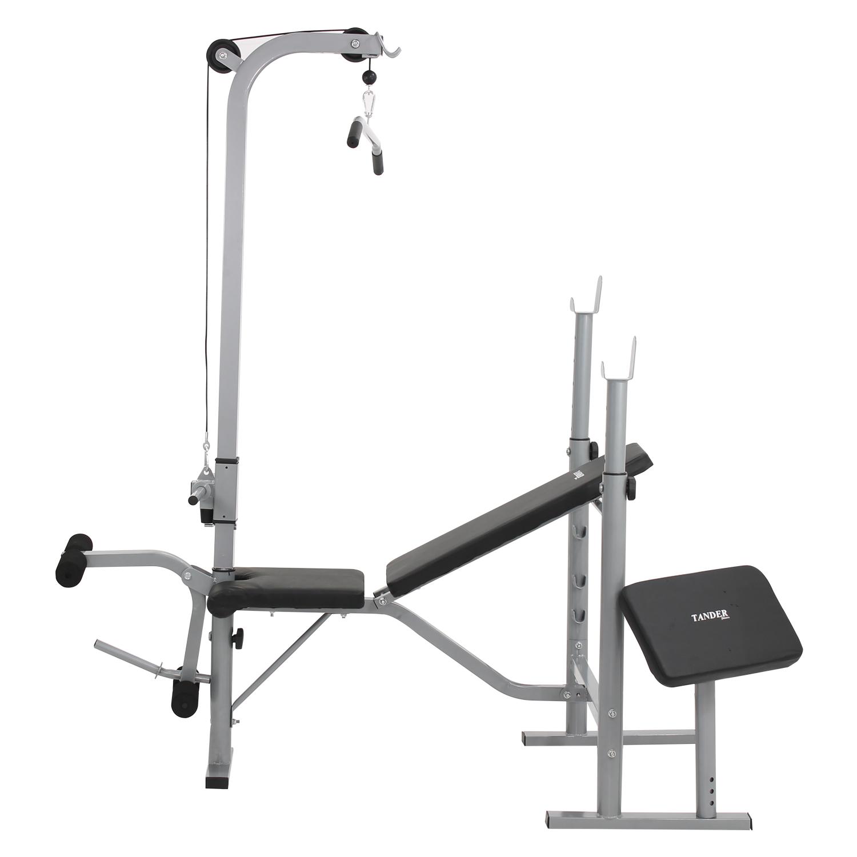 edd18e86632 AgrotamA -Estação de Musculação Banco Supino Pro