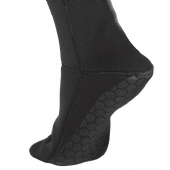MEIA DE NEOPRENE CRESSI SOLE ANTI SLID 3MM PRETO 38-39 (1972)