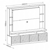 PAINEL HOME THEATER ITALIAN (10638109)
