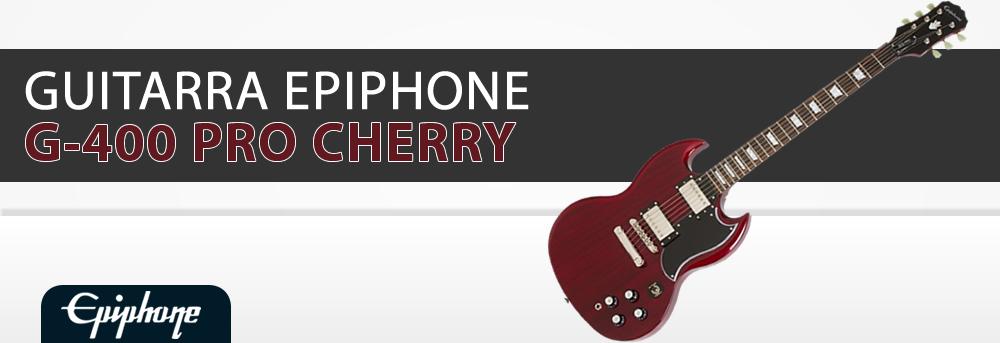 Guitarra Epiphone G-400 PRO Cherry