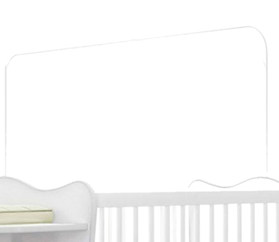 Berço com Cantoneira Doce Sonho para Bebês