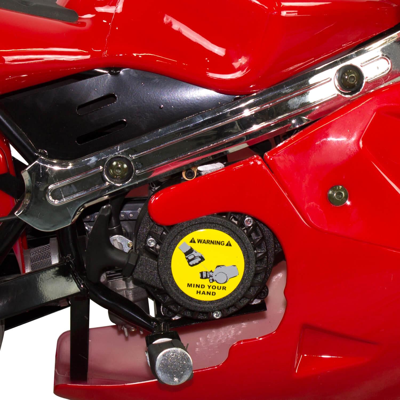Mini Moto Ninja 49cc Freio a Disco 2 tempos TMN4917- PR - P