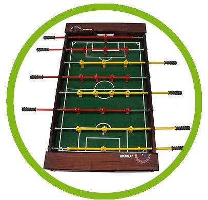 Caracteristicas da Mesa de Pebolim, Especial, Totó Futebol - Klopf
