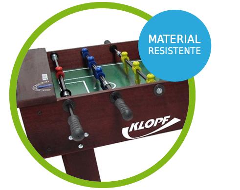 Mesa de Pebolim Especial 1072 - Klopf com Material Resistente