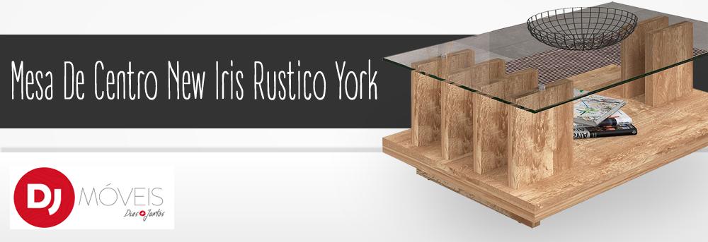 Mesa De Centro New Iris Rustico York