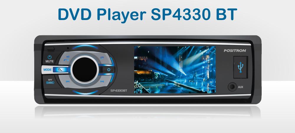 DVD Player SP4330 BT - Positron