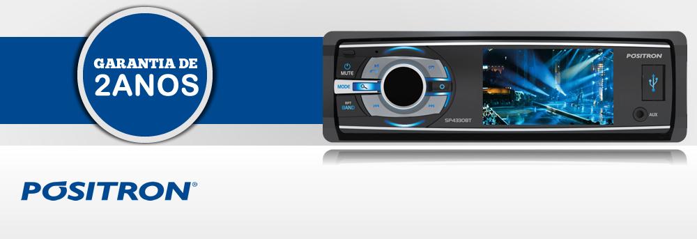 DVD Player SP4330 BT - Positron Garantia de 2 anos