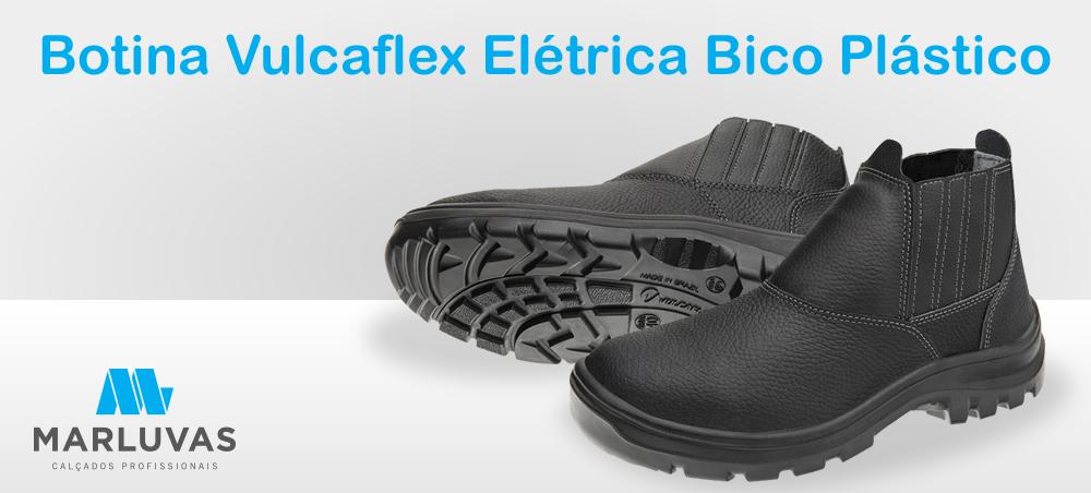 Botina Vulcaflex Elétrica Bico Aço - Marluvas