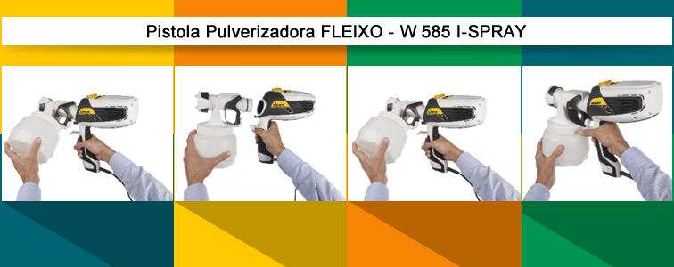 Pistola Pulverizadora Flexio I-Spray W 585 - 630w - Wagner