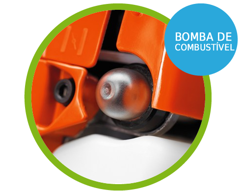 Bomba de Combustível Soprador de folhas à gasolina lateral 1.8 hp - 125BVX