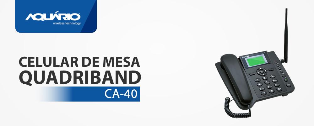Celular De Mesa Quadriband - Aqu�rio