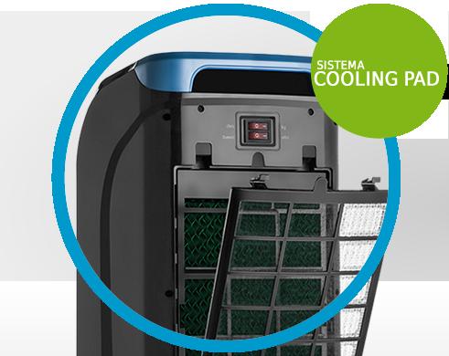 Climatizador de Ar - CLI601 127Volts Sistema Cooling PAD