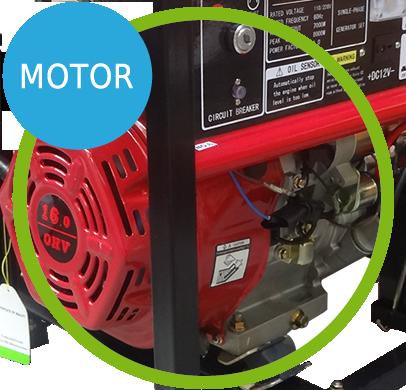 Gerador de Energia a Gasolina 8,125 kva partida el�trica Monof�sico 110/220v - NG8000E - Motor