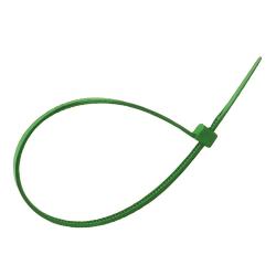 Comprar Abra�adeira nylon cor verde 2,5mmX100mm-Brasfort