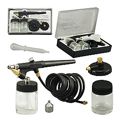 Comprar Aerógrafo MP 1000 Capacidade do reservatório de tinta 25 ml-Wimpel