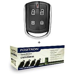 Comprar Alarme para Carro Linha 2014 Presença - Cyber PX330 + Trava Elétrica Linear 4 Portas Universal-Pósitron