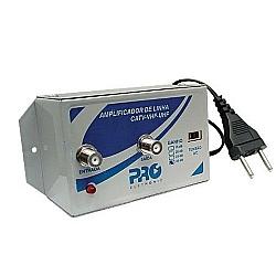 Comprar Amplificador de Linha 30DB Bivolt VHF - UHF - CATV - PQAL-3000-Proeletronic