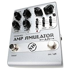 Comprar Amplificador Simulador com Três chaves Mic Mod e Amp-Nig