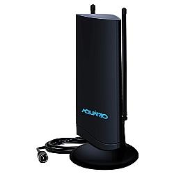 Comprar Antena de TV Interna 4 em 1 VHF UHF FM e HDTV Digital-Aquário