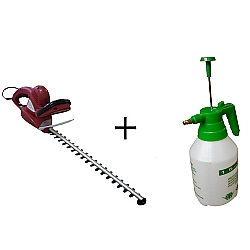 Comprar Aparador de Cerca Viva Elétrico 600 watts com Pulverizador manual 1,5 litros-Nagano