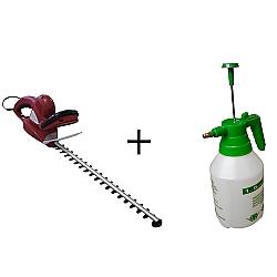 Comprar Aparador de Cerca Viva El�trico 600 watts com Pulverizador manual 1,5 litros-Nagano
