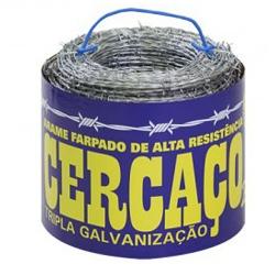 Comprar Arame farpado ZN3 500 metros-Morlan