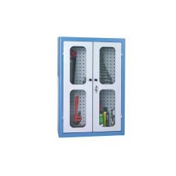 Comprar Arm�rio com painel perfurado com porta de vidro - AM46-Marcon