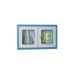 Comprar Arm�rio com painel perfurado com porta de vidro - AM52-Marcon