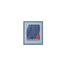 Comprar Arm�rio hobby com 2 gavetas com porta vidro - AR3-Marcon