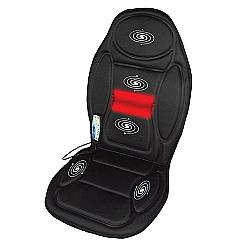 Comprar Assento Massageador 5 Motores 4 intensidades Ajustáveis Bivolt-Supermedy