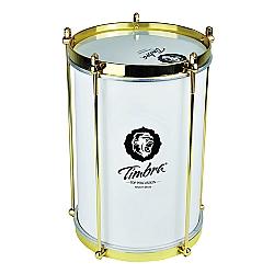 Comprar Bacurinha 08 X 30 Cm Alumínio Pintura Branca C/Aro Dourado Pele Leitosa-Timbra