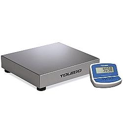 Comprar Balança Pesadora de Bancada, 120 kg, Inox, Display em LCD - 2098-Toledo do Brasil