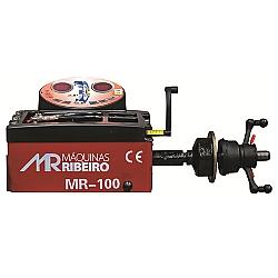Comprar Balanceadora de Rodas Manual Vermelho Máquinas MR 100-MR Ribeiro