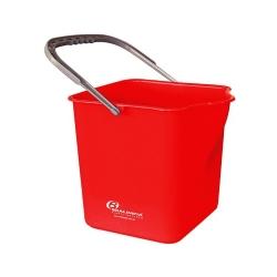 Comprar Balde 25L c alça sem espremedor vermelho - BA25VM-Bralimpia