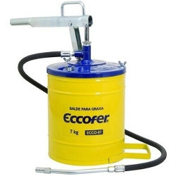 Comprar Balde para graxa 7 kilos - ECCO 07-Eccofer