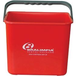Comprar Balde vermelho 4 Litros - BA04VM-Bralimpia