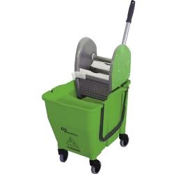 Comprar Balde espremedor doblô verde - NY110-Bralimpia