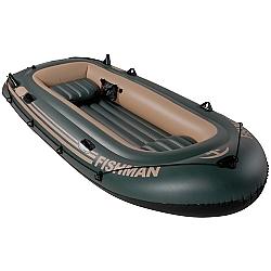 Comprar Barco Inflável, com Inflador e Remos - FISHMAN-MOR