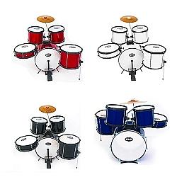 Comprar Bateria Baby 5 Pcs Com 2 Tonton Pvc Pintada-BNB Instrumentos Musicais