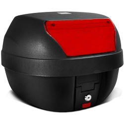 Comprar Ba� Moto Bauleto 28 Litros Smart Box Motocicleta-Pro Tork