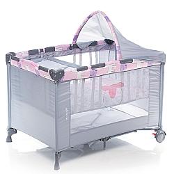 Comprar Berço Portátil Funny, para bebês - NBR Rosa C68-Voyage