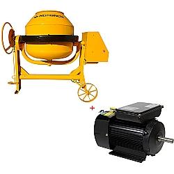 Comprar Betoneira 400 Litros com Cremalheira - Motor Elétrico Monofásico 127/220v-Horbach