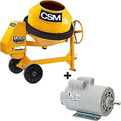 Comprar Betoneira Super 400 Litros + Motor Monofásico 2 CV-CSM