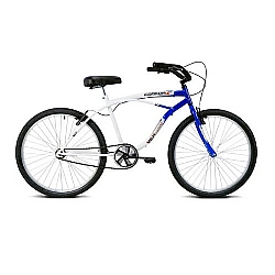 Comprar Bicicleta Aro 26 Confort Azul e Branco-Verden Bike