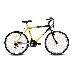 Comprar Bicicleta Aro 26 Live Amarelo e Preto-Verden Bike