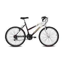Comprar Bicicleta Aro 26 Live Branco e Violeta-Verden Bike