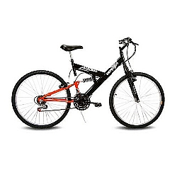 Comprar Bicicleta Aro 26 Radikale preto e Laranja-Verden Bike