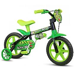 Comprar Bicicleta Infantil Menino Aro 12 Black Nathor-Nathor