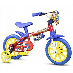 Comprar Bicicleta Infantil Menino Aro 12 Fireman Nathor-Nathor